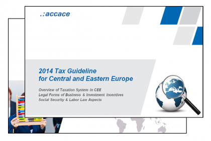 2014 Tax Guideline for Central and Eastern Europe