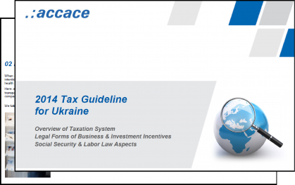 2014 Tax Guideline for Ukraine