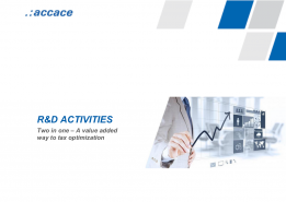 R&D activities in Hungary. Two in one – A value added way to tax optimization.