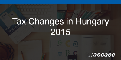 Tax Changes in 2015