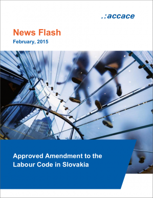 Approved Amendment to the Labour Code in Slovakia