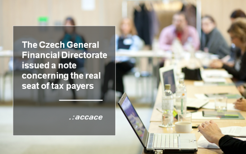 The GFD issued a notice concerning the real seat in the context of VAT