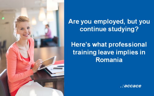 Are you employed, but you continue studying? Here's what professional training leave implies