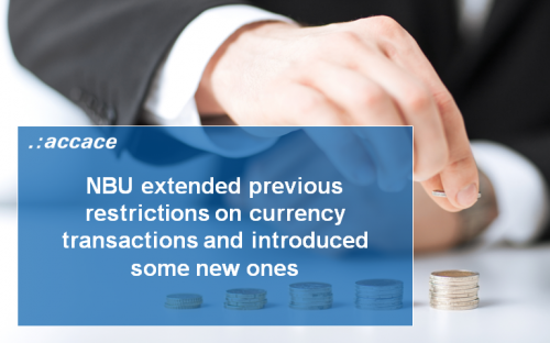 Restrictions on currency transactions in Ukraine