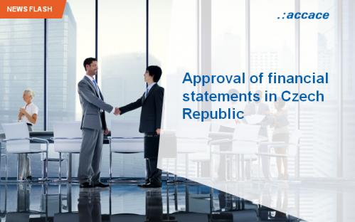 Approval of financial statements in Czech Republic