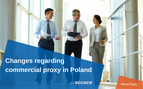 Changes regarding commerical proxy in Poland