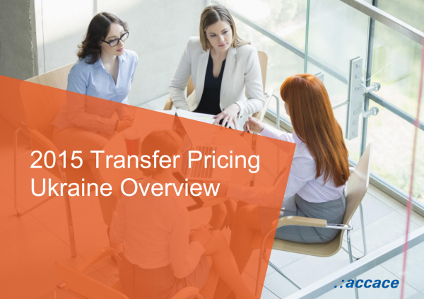 2015 Transfer Pricing Ukraine Overview