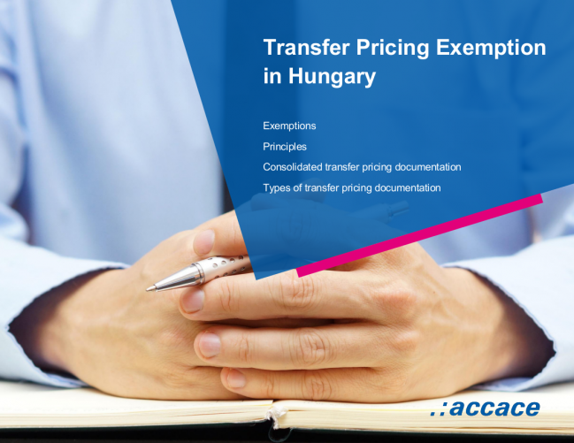 Transfer pricing exemption in Hungary | eBook