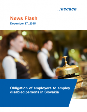 Obligation of employers to employ disabled persons in Slovakia