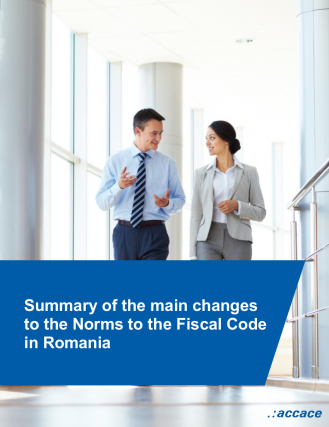 Summary of the main changes to the Norms to the Fiscal Code in Romania | eBook