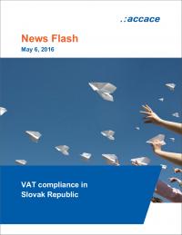 VAT compliance in Slovak Republic | News Flash