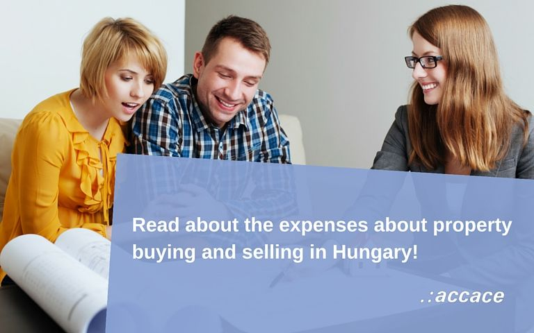 Expenses of property buying and selling in Hungary 2016 | News Flash