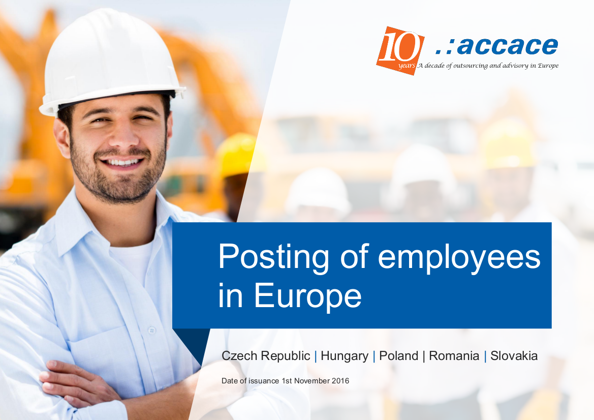 New obligations of employers posting workers to carry out services in other EU member states | eBook