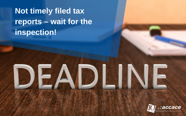 If you have submitted your Ukrainian tax reports late, you could expect a tax inspection