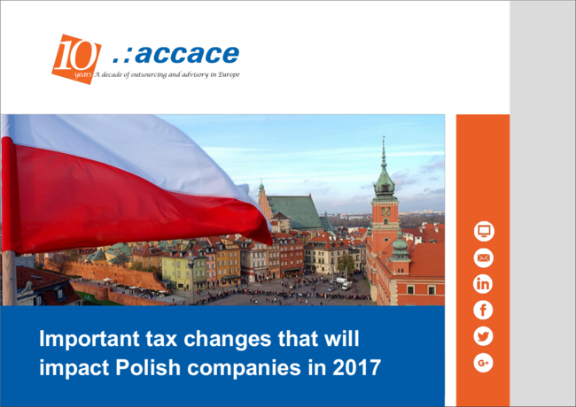 Important tax changes that will impact Polish companies in 2017 | eBook