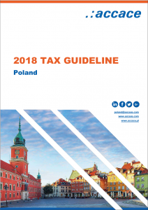 2018 Tax Guideline for Poland | Accace - Outsourcing and