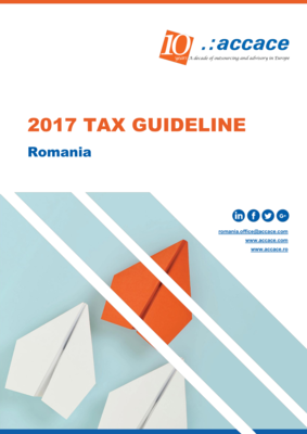 2017 Tax Guideline for Romania