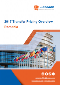 2017 Transfer Pricing Overview for Romania