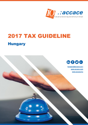 2017 Tax Guideline for Hungary