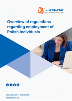 Overview of regulations regarding employment of Polish individuals