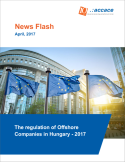 The regulation of Offshore Companies in Hungary, 2017   News Flash