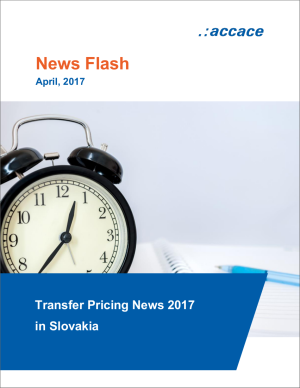 Transfer Pricing News 2017 in Slovakia | News Flash