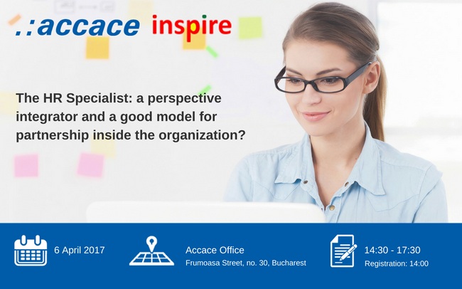 The HR Specialist: a perspective integrator and a good model for partnership inside the organization? | Accace Romania