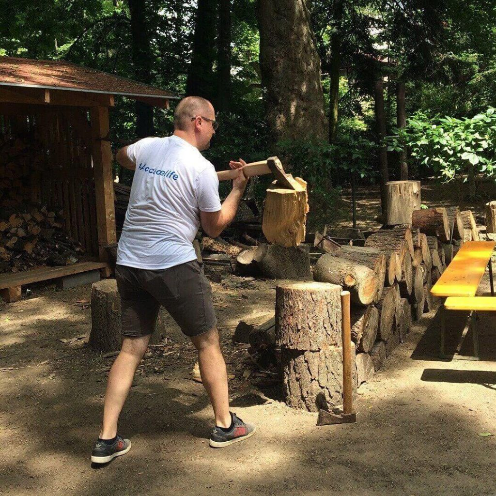 Accace Slovakia helping the Horský park Foundation in a new project