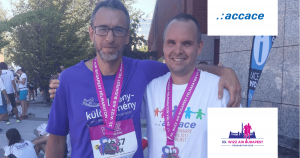 Accace Hungary - half maraton for good cause
