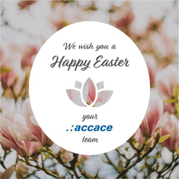 Accace wishes you a happy Easter in 2019