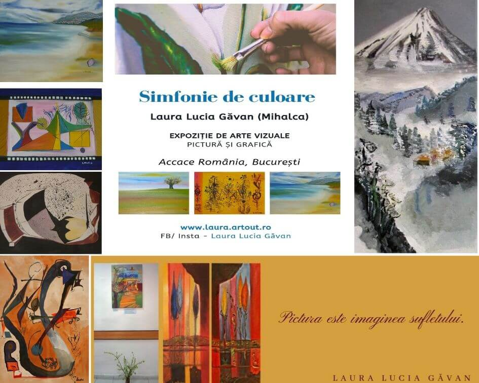 Color symphony – exhibition of paintings and graphics in Romania | Office Gallery Accace
