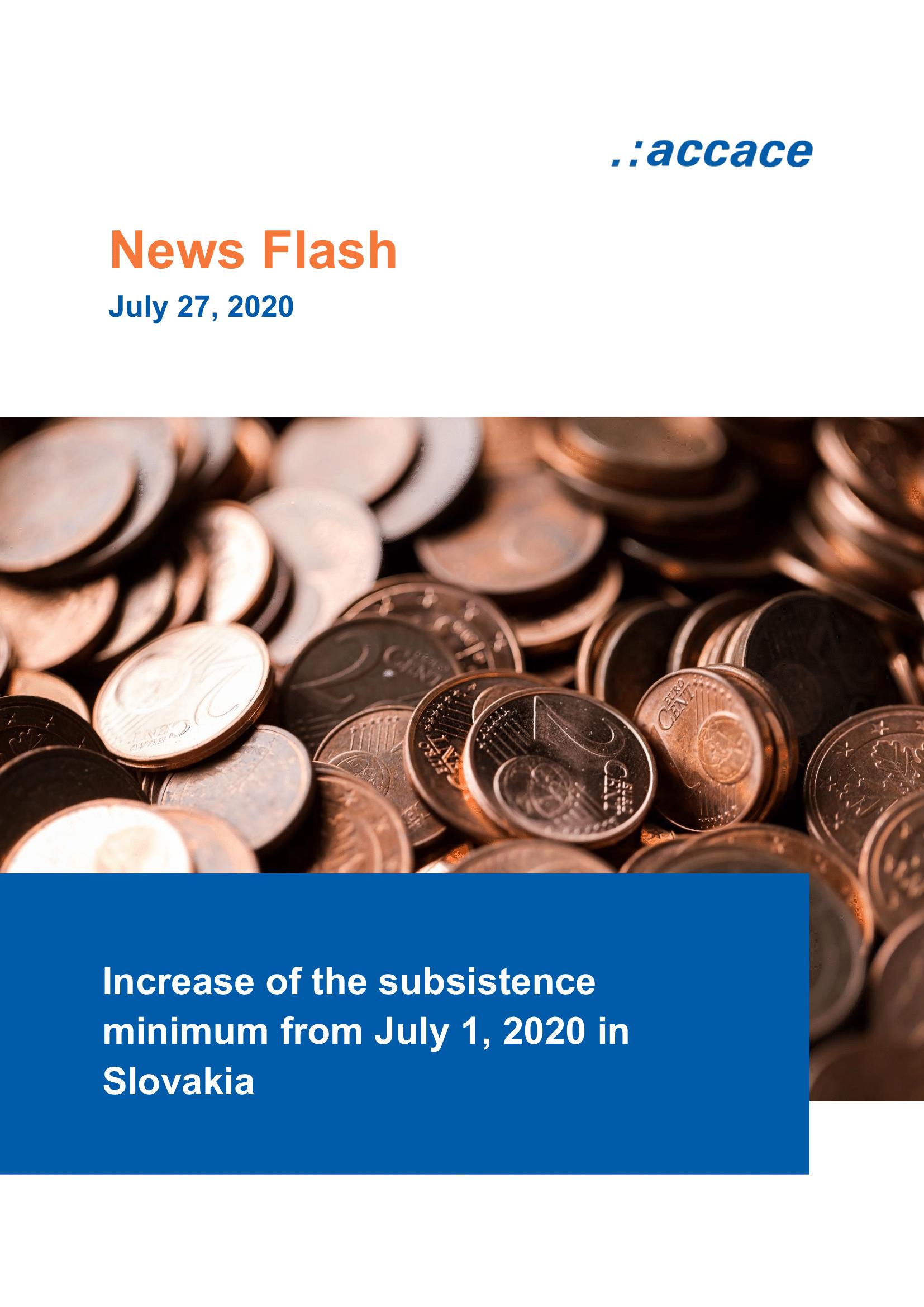 NEWS FLASH-2020-07-27_Increase of the subsistence minimum_EN